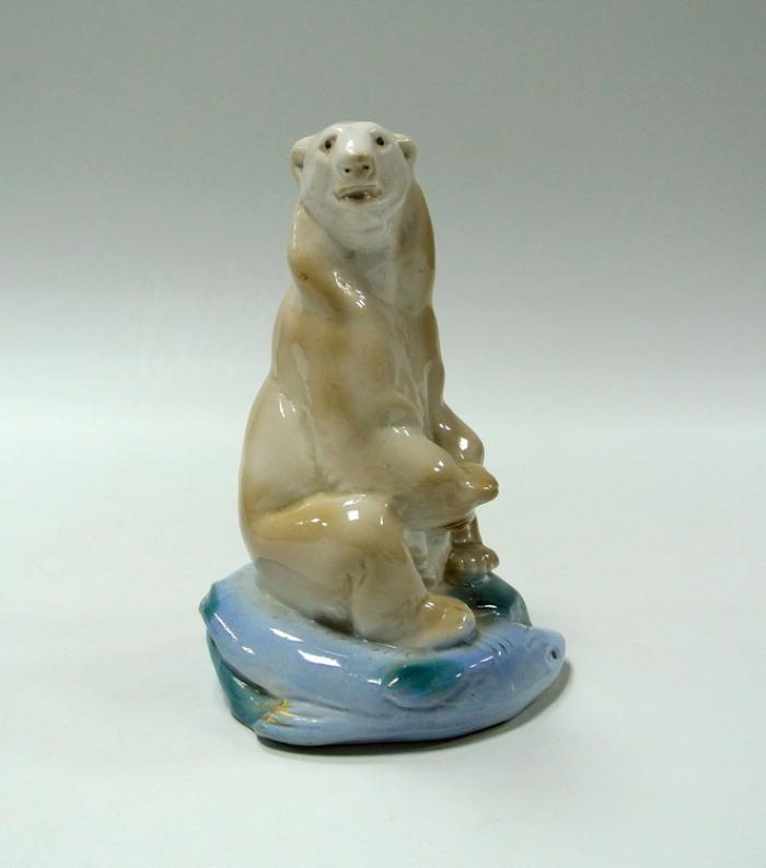 Фигурка Гжель медведь