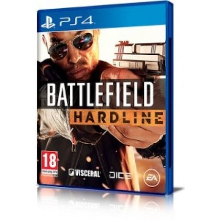 Диск для PS4 Battlefield Hardline