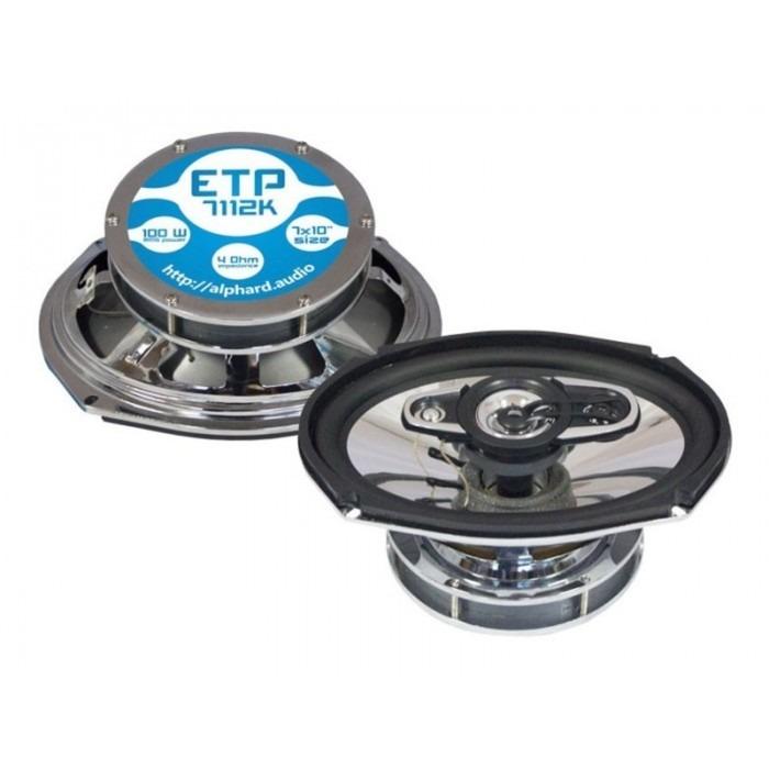 Коаксиальная акустика Machete ETP-7112K