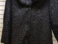Шуба (Каракуль, воротник норка)