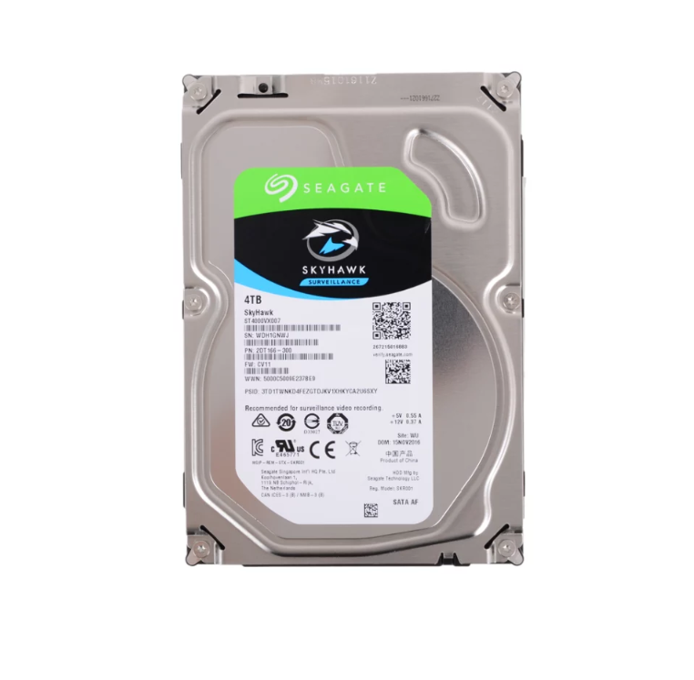 Жесткий диск Seagate SkyHawk 4 TB ST4000VX007(Новый).