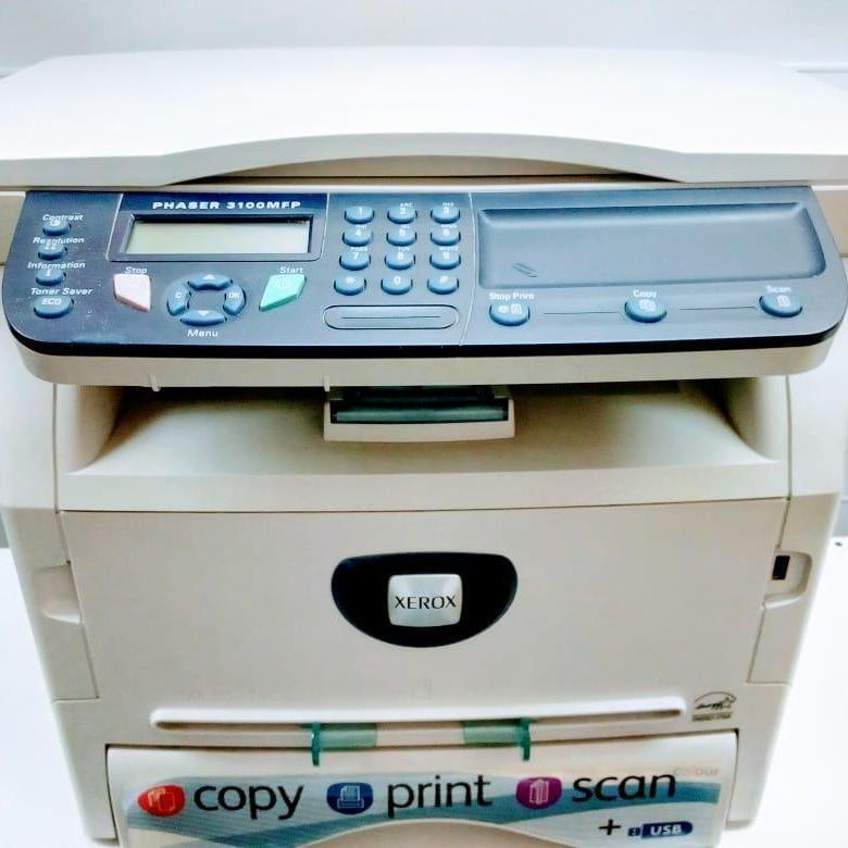 Сканер,принтер xerox copy print scan 3100mfp/s
