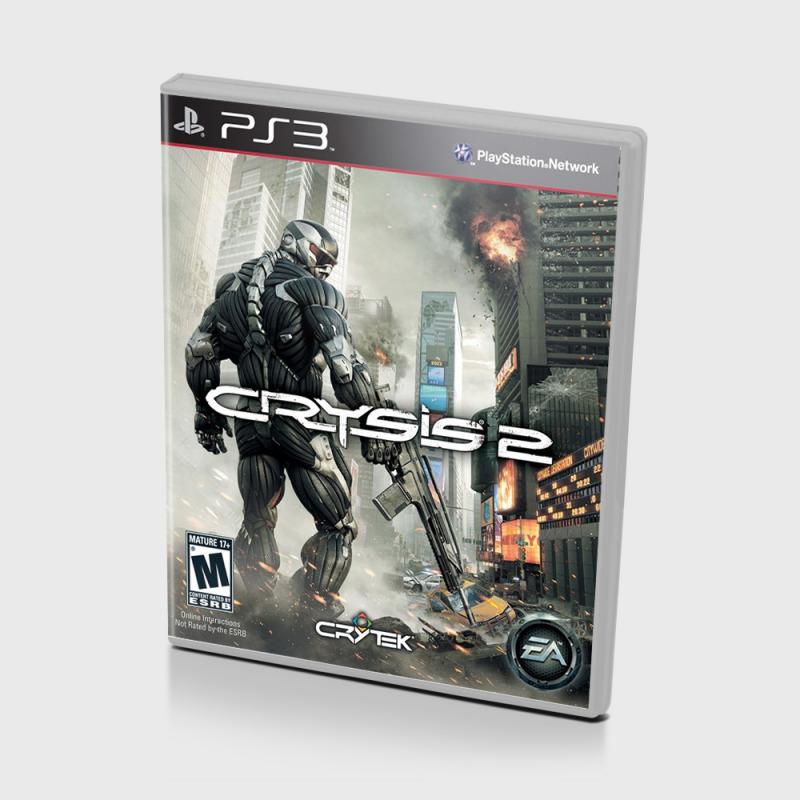 Диск на PS3 Crysis 2