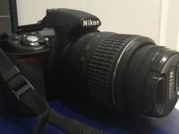 Фотоаппарат Nikon D3100, б/у, п/ц, с з/у, ком-т