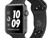 Часы Apple Watch Nike+Series3 42 mm