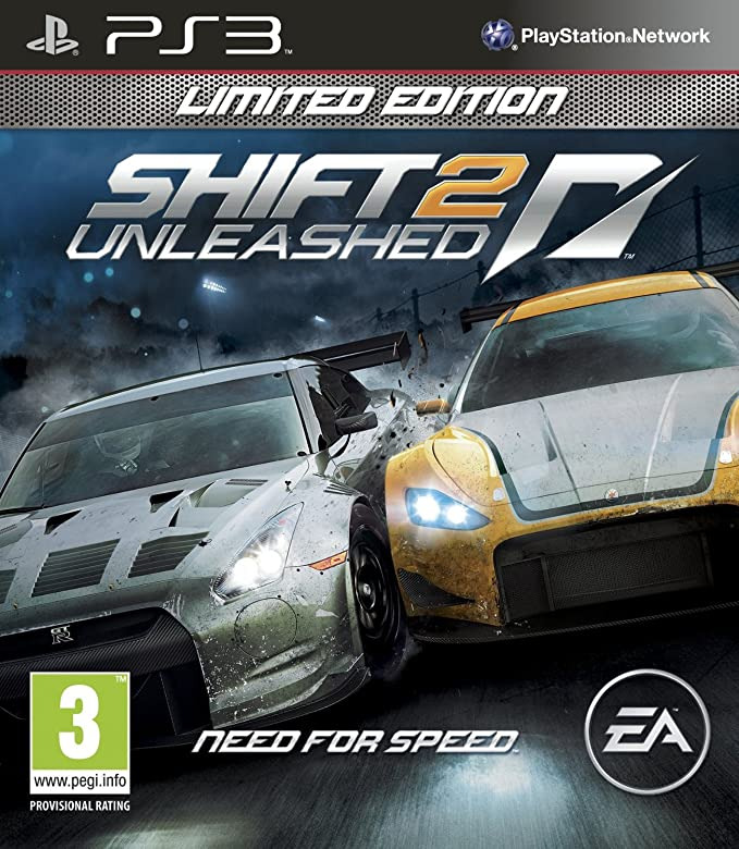 Диск PS3 Need For Speed Shift 2 Unleashed