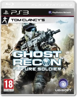 Диск PS3 Tom Clancys Ghost Recon Future Soldier