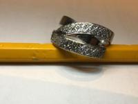 Кольцо с бриллиантами Золото 750 (18K) вес 9.30 г