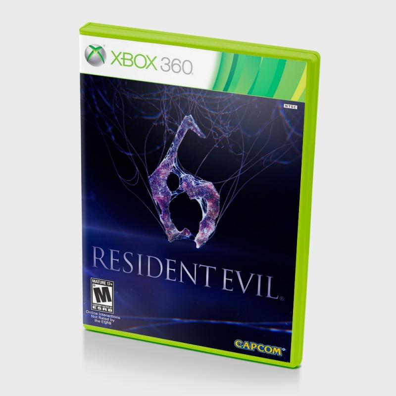 Диск на Xbox 360 Residentevil 6