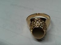 Перстень  Золото 585 (14K) вес 3.57 г