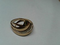 Кольцо  Золото 585 (14K) вес 2.27 г