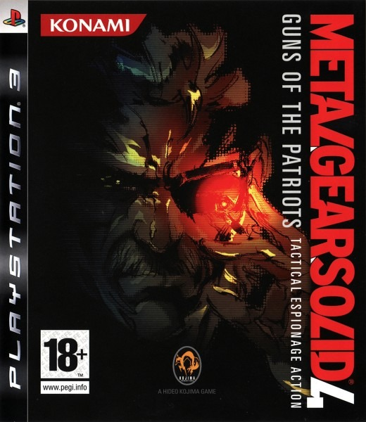 Диск PS3 Metal Gear Solid 4: Guns of the Patriots