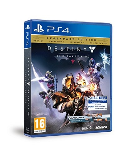 Диск для PS4 Destiny the taken king
