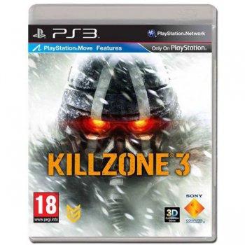 Диск на PS3 Killzone 3