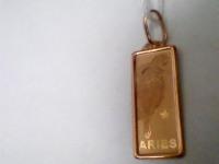 Подвеска зн.зодиака Золото 585 (14K) вес 0.90 г