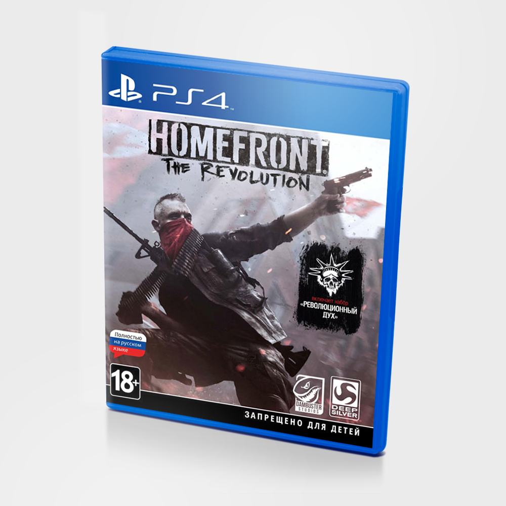 Диск PS4 HOMEFRONT The revolution