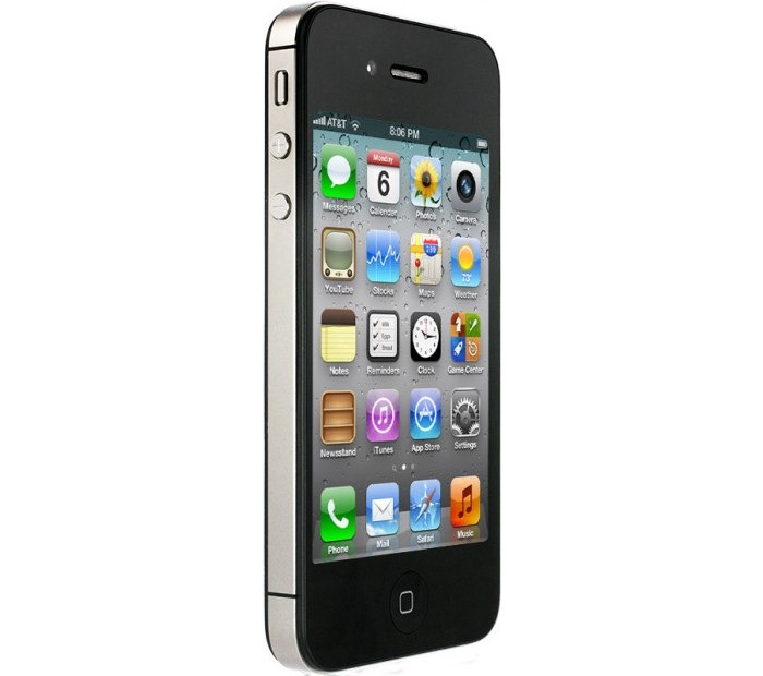 Apple iPhone 4 GSM 16 GB (черный)