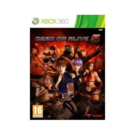 Диск на xBox 360 Read of Alive 5