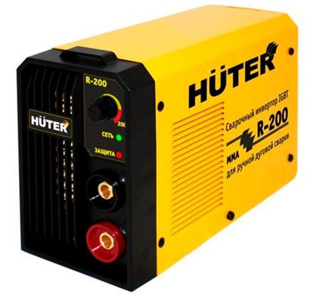 Сварочный аппарат инверторного типа Huter R-200 (MMA)