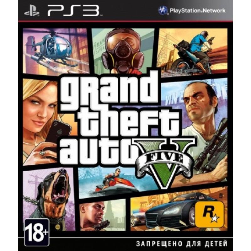 Диск для PS3 Grand Theft Auto V