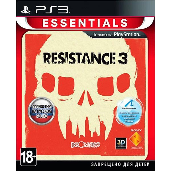Диск PS3 Resistance 3