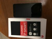 Смартфон Huawei P Smart 32GB (FIG-LX1), в рабочем состоянии, без з/у. б/у, доки, коробка