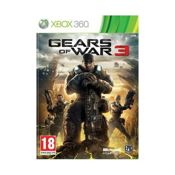 Диск на xBox 360 Gears of War 3