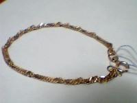 Браслет Золото 585 (14K) вес 2.77 г