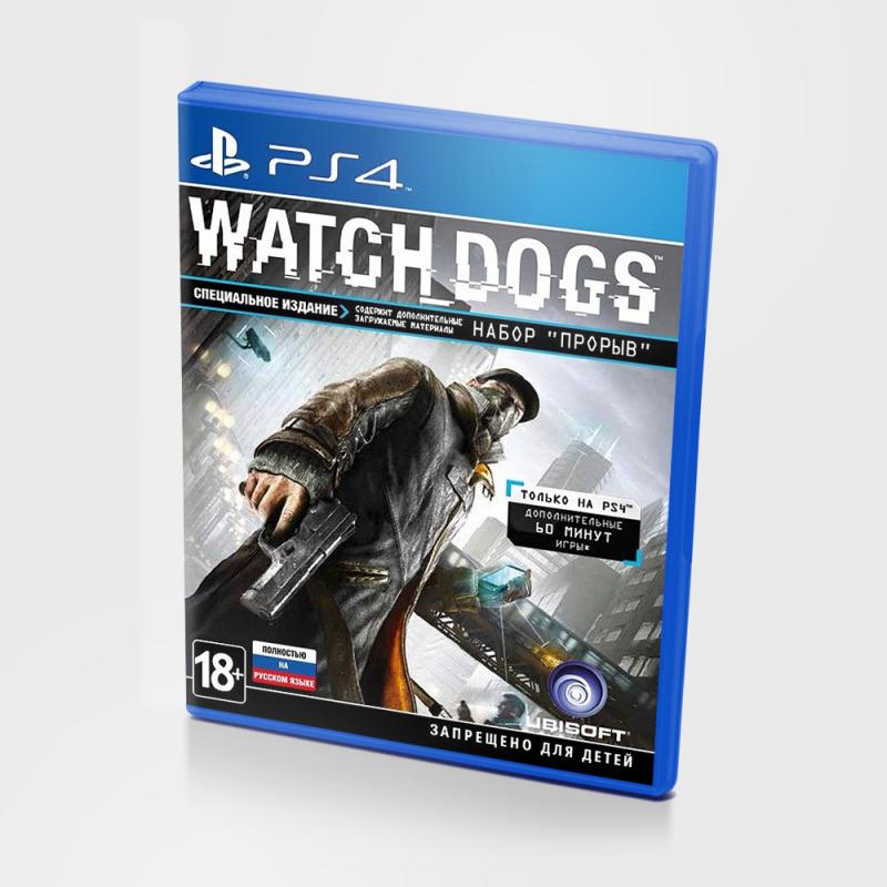 Диск для PlayStation 4 Watch Dogs