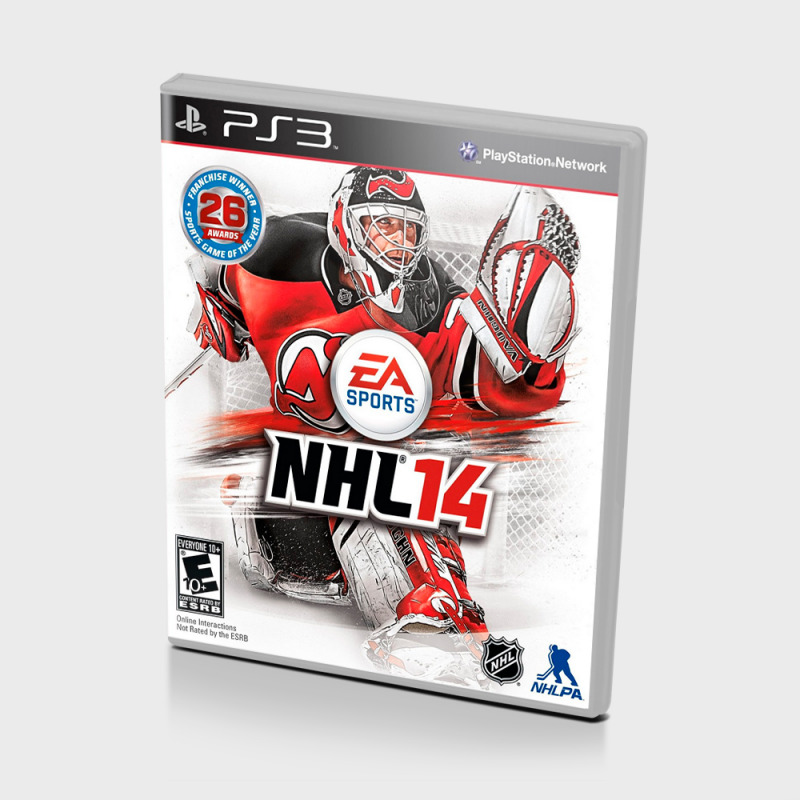 Диск для PS3 NHL 14