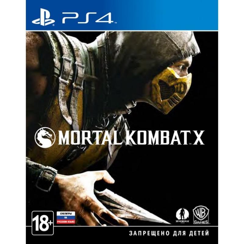 Диск PS4 Mortal Kombat X