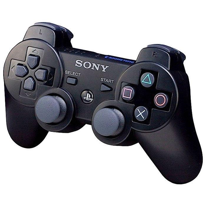 Джойстик для Sony PlayStation 3 Беспроводной (Black)