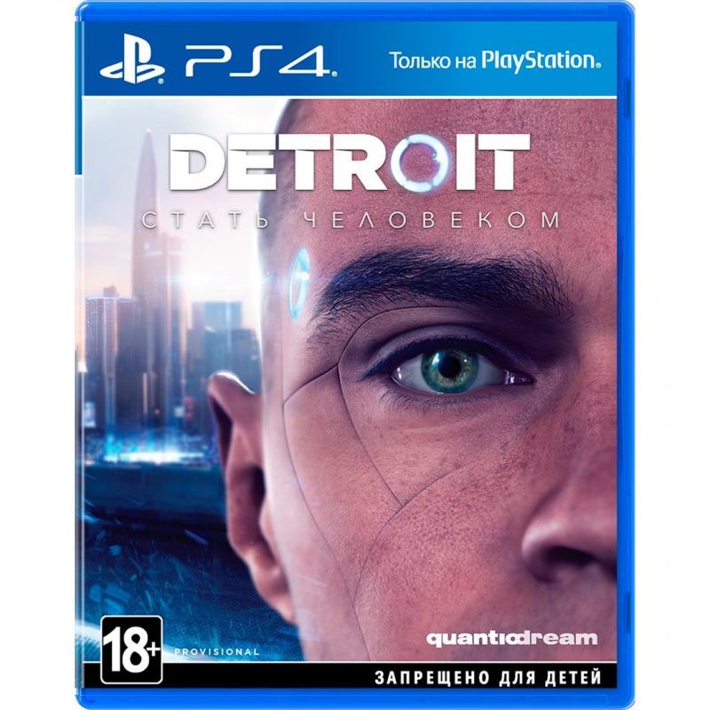 Диск для PS 4 Detroit: Стать человеком.