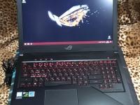 Ноутбук ASUS ROG Strix GL503VD,доки,з/у,коробка