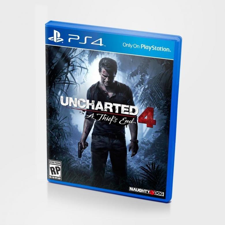 Диск PS4 Uncharted 4: Путь вора