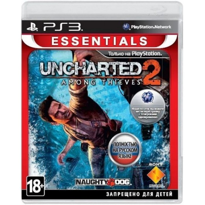 Диск на PS-3 Uncharted 2