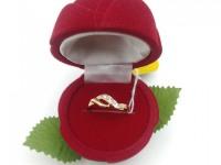 Кольцо с камнями  Золото 585 (14K) вес 1.14 г
