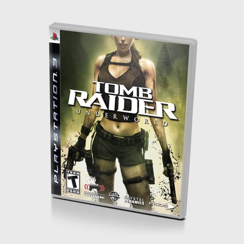 Диск на PS3 Tomb Raider