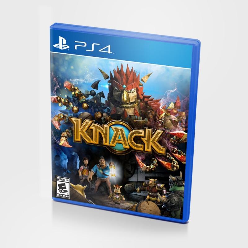 Диск PS4 Knack