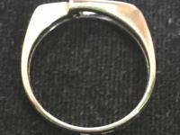 Кольцо с бриллиантом  Золото 585 (14K) вес 3.05 г