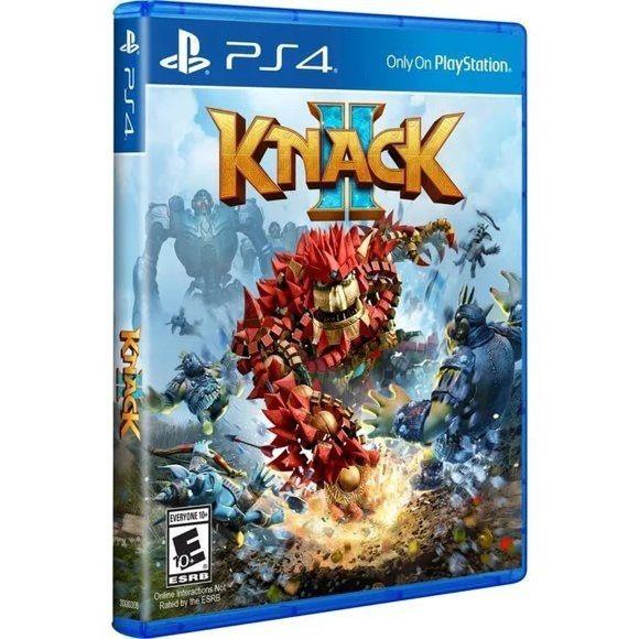 Диск на PS4 Knack