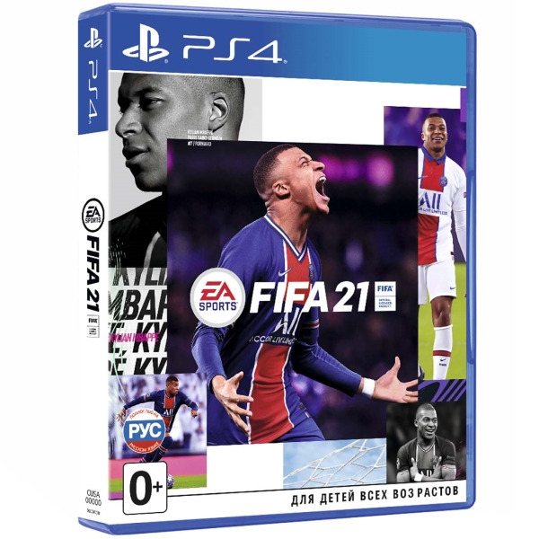 Диск PS4 FIFA 21