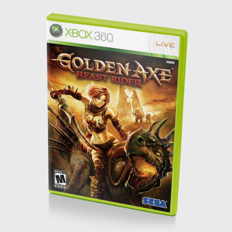 Диск для XBOX 360 Golden Axe Beast Rider
