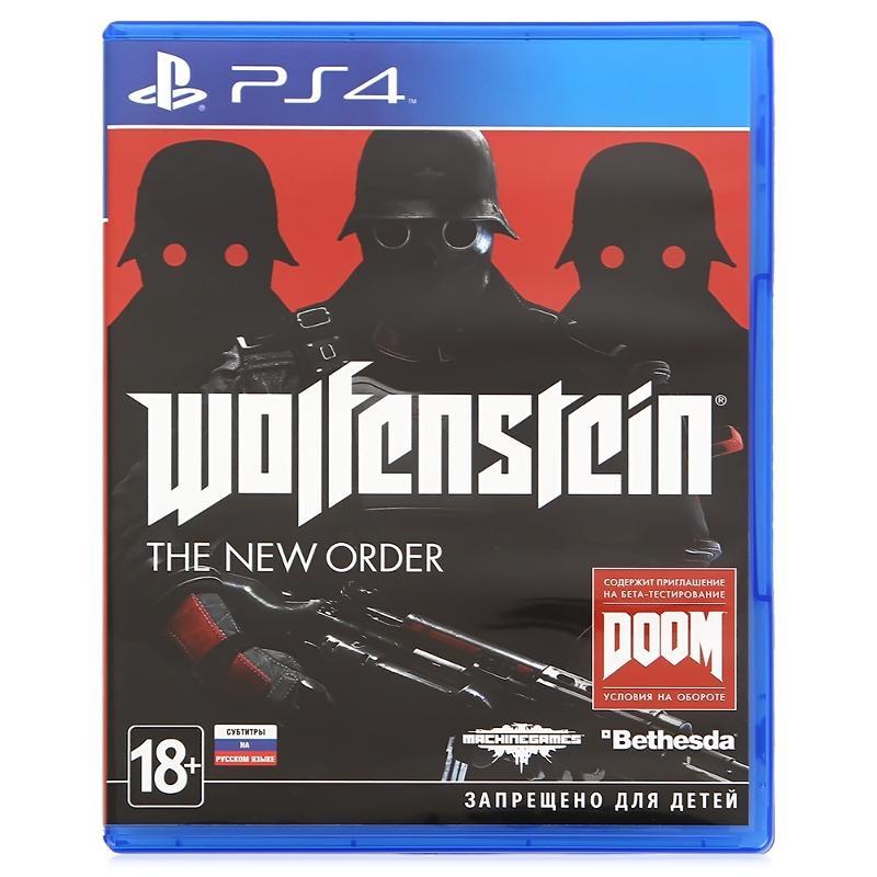 Диск для PS 4 Wolfenstein: The New Order