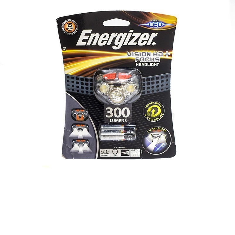 Фонарик Фонарь Energizer HDD321 Vision HD + Focus Headlight