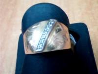 Кольцо Золото 585 (14K) вес 2.37 г