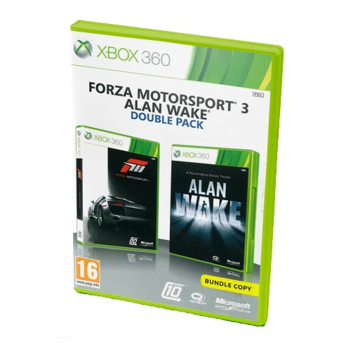 Диск для Xbox 360 Motorsport 3 / Alan Wake Double pack