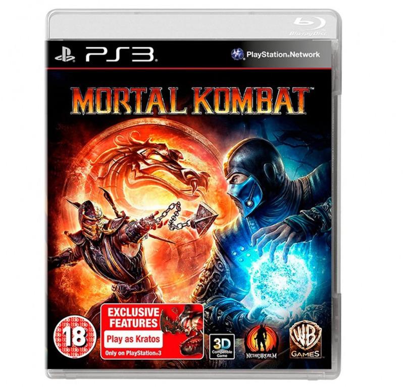Диск для PS3 Mortal Kombat