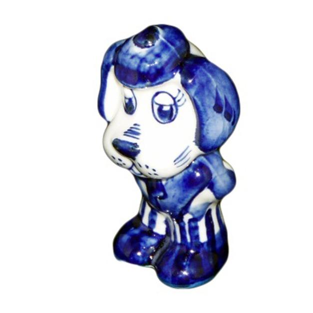 Фарфоровая статуэтка «Собака»