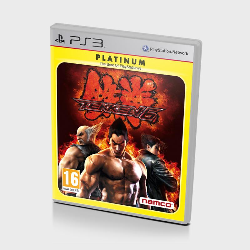 Диск для PS3 Tekken 6